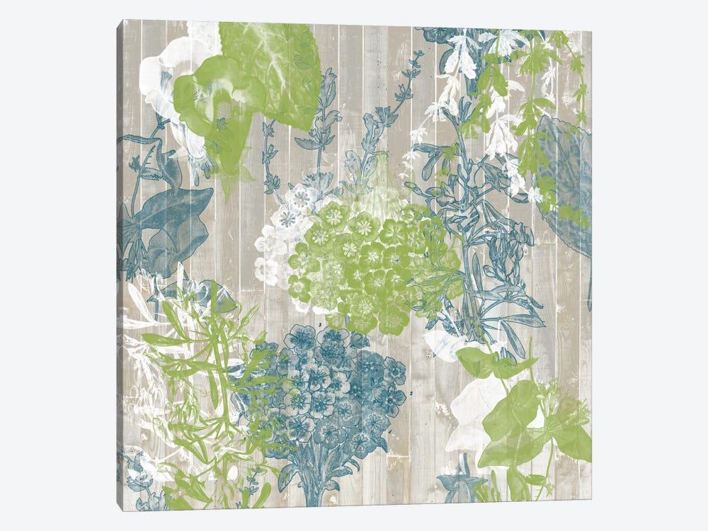 Flower Pattern III by Jennifer Goldberger 1-piece Canvas Print