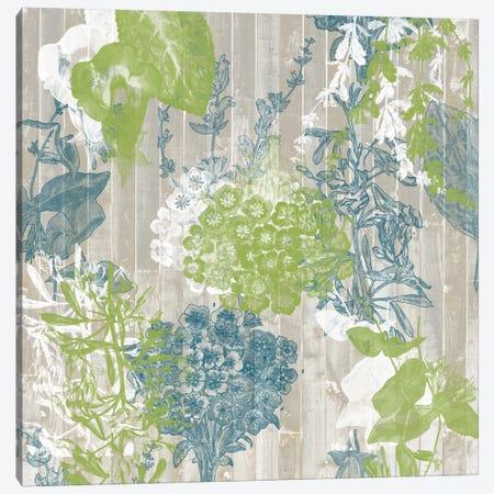 Flower Pattern III Canvas Print #JGO44} by Jennifer Goldberger Canvas Art Print