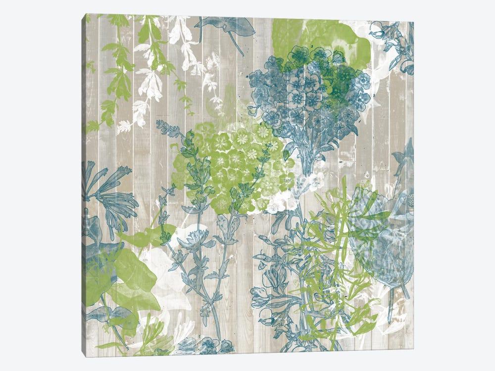 Flower Pattern IV by Jennifer Goldberger 1-piece Canvas Wall Art