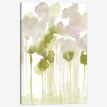 Aquarelle Forest I Canvas Print #JGO461} by Jennifer Goldberger Art Print