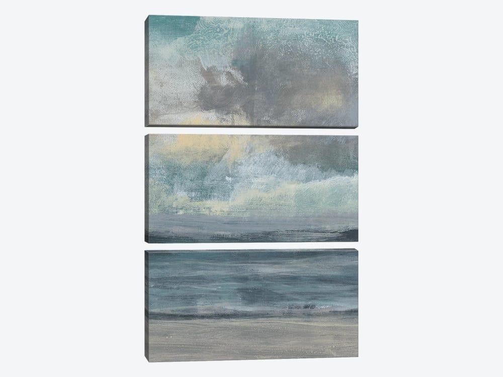Beach Rise I by Jennifer Goldberger 3-piece Canvas Artwork