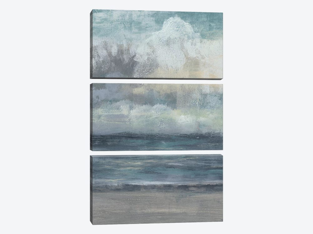 Beach Rise II by Jennifer Goldberger 3-piece Art Print