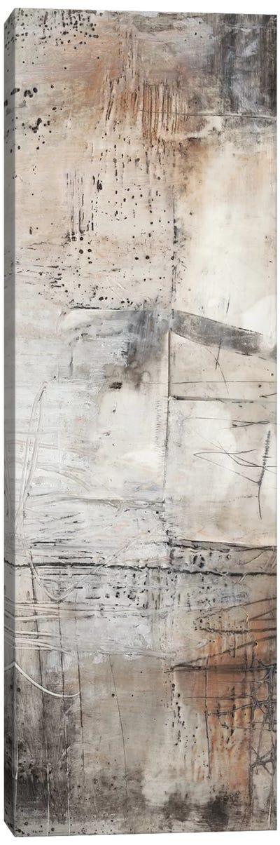 Black, White & Bronze I Canvas Art Print