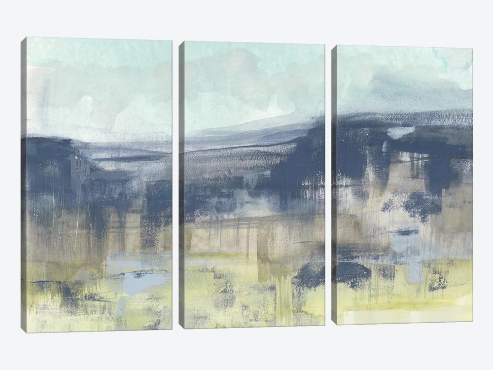 Blueberry Hills I by Jennifer Goldberger 3-piece Canvas Print