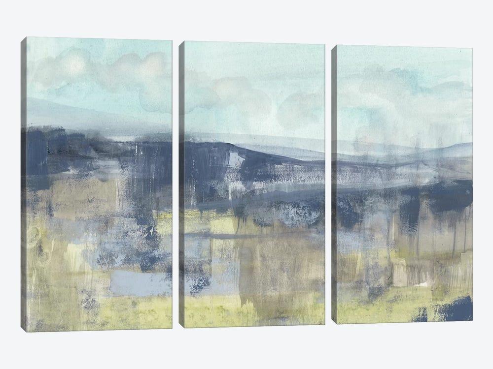 Blueberry Hills II by Jennifer Goldberger 3-piece Canvas Wall Art