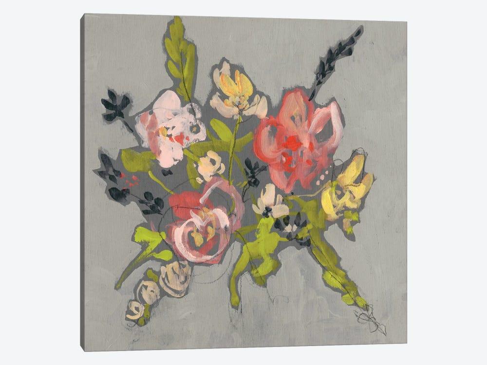 Blush & Paynes Bouquet II by Jennifer Goldberger 1-piece Canvas Wall Art