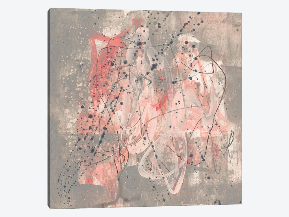 Blush Kinesis I by Jennifer Goldberger 1-piece Art Print