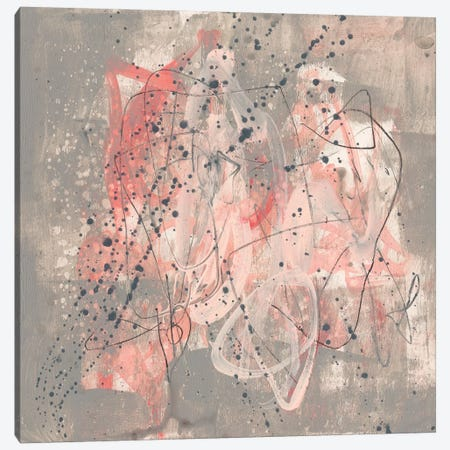 Blush Kinesis I Canvas Print #JGO475} by Jennifer Goldberger Canvas Print