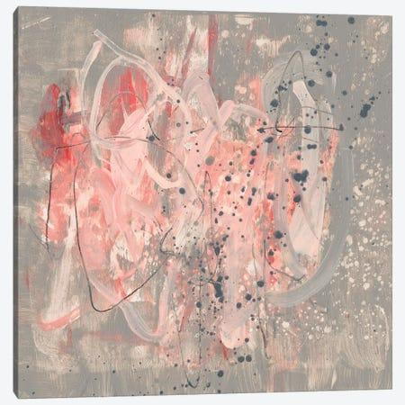 Blush Kinesis II Canvas Print #JGO476} by Jennifer Goldberger Canvas Print