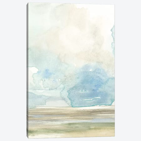 Clouds Over The Marsh I Canvas Print #JGO479} by Jennifer Goldberger Canvas Art