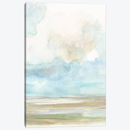 Clouds Over The Marsh II Canvas Print #JGO480} by Jennifer Goldberger Canvas Print