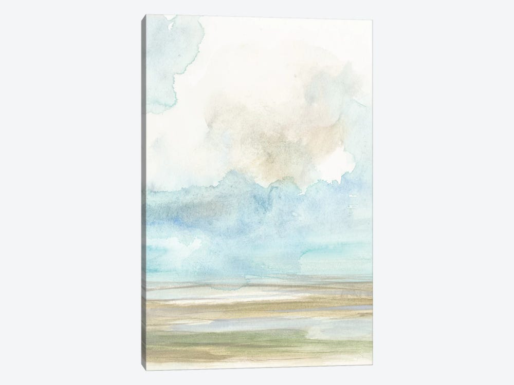 Clouds Over The Marsh II by Jennifer Goldberger 1-piece Canvas Print