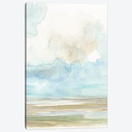 Clouds Over The Marsh II Canvas Print #JGO480} by Jennifer Goldberger Canvas Print