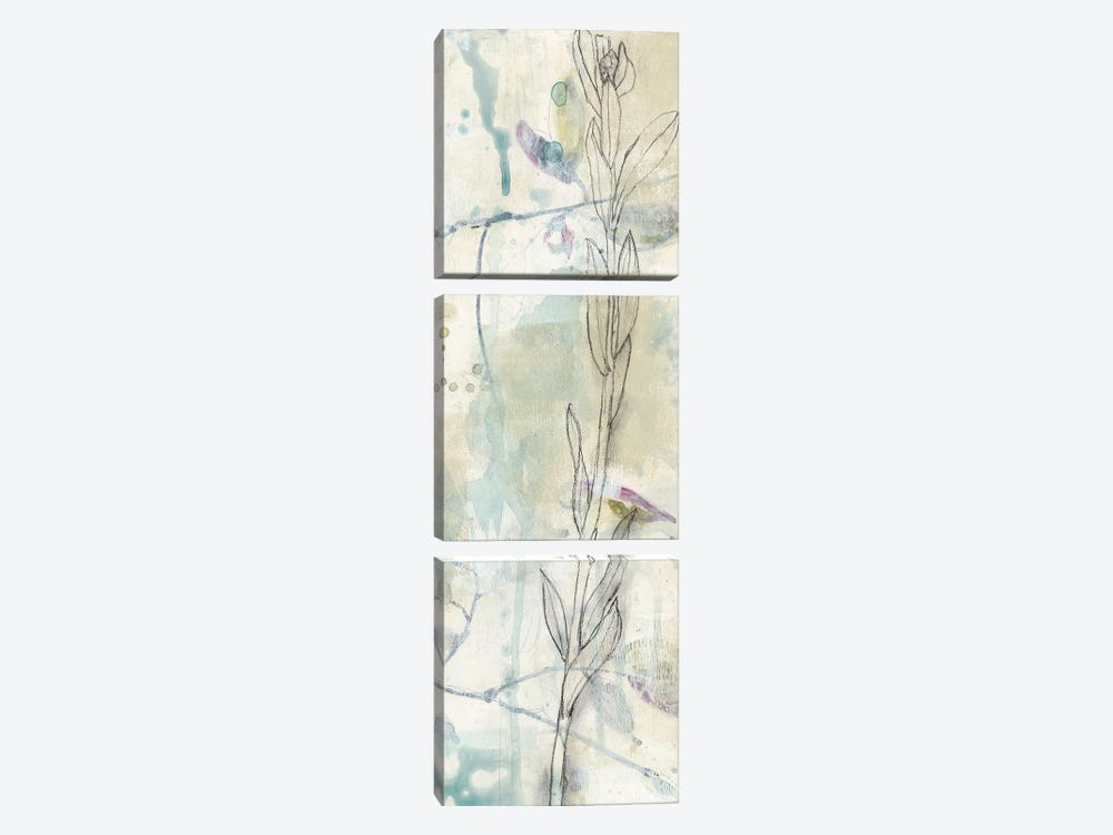 Contour Stem II by Jennifer Goldberger 3-piece Art Print