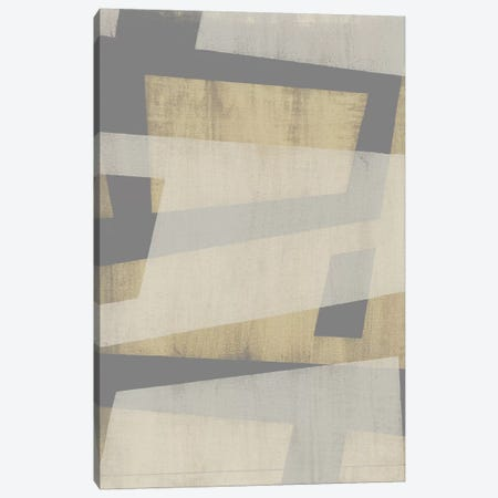 Diagonal Layers I Canvas Print #JGO483} by Jennifer Goldberger Art Print