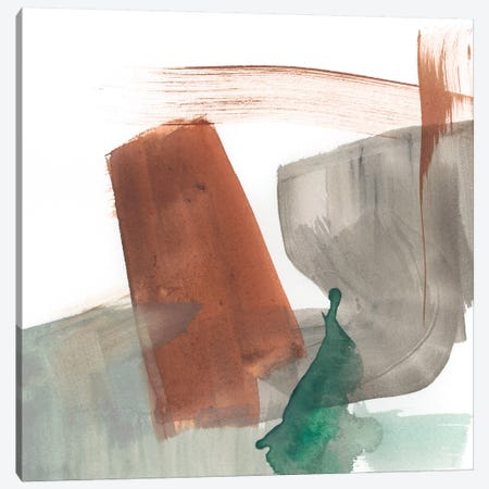 Earthy Gestures III Canvas Print #JGO487} by Jennifer Goldberger Canvas Artwork