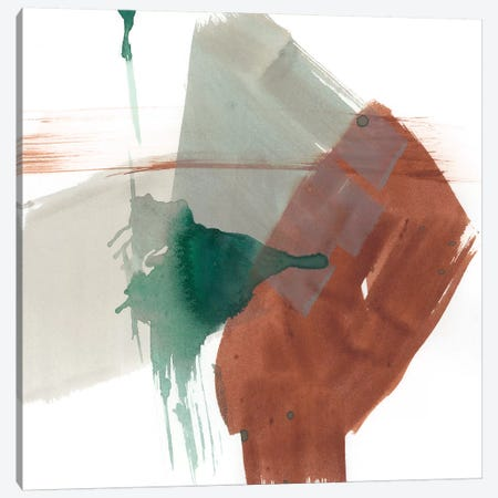 Earthy Gestures V Canvas Print #JGO490} by Jennifer Goldberger Canvas Wall Art