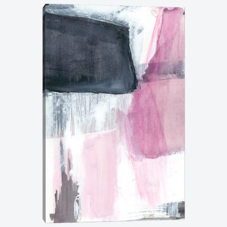 Fuchsia Divide II Canvas Print #JGO497} by Jennifer Goldberger Canvas Art Print