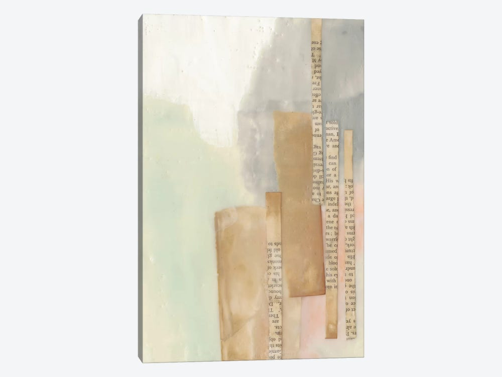 In Line I by Jennifer Goldberger 1-piece Canvas Artwork