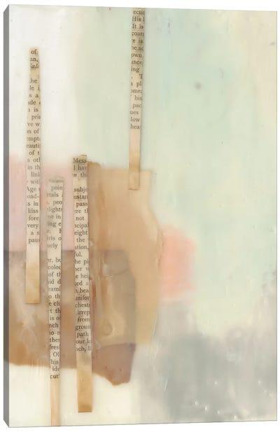 In Line II Canvas Art Print