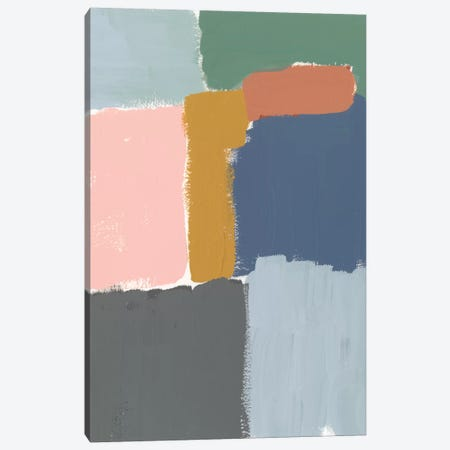 Muted Color Block II Canvas Print #JGO505} by Jennifer Goldberger Canvas Art Print