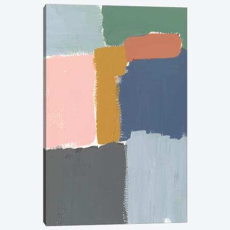 Muted Color Block II Canvas Print #JGO505} by Jennifer Goldberger Canvas Art Print