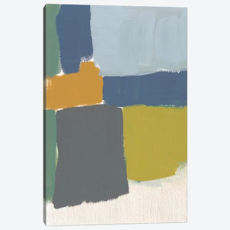 Muted Color Block VI Canvas Print #JGO509} by Jennifer Goldberger Canvas Artwork