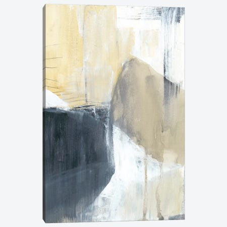 Neutral Divide I Canvas Print #JGO512} by Jennifer Goldberger Canvas Print