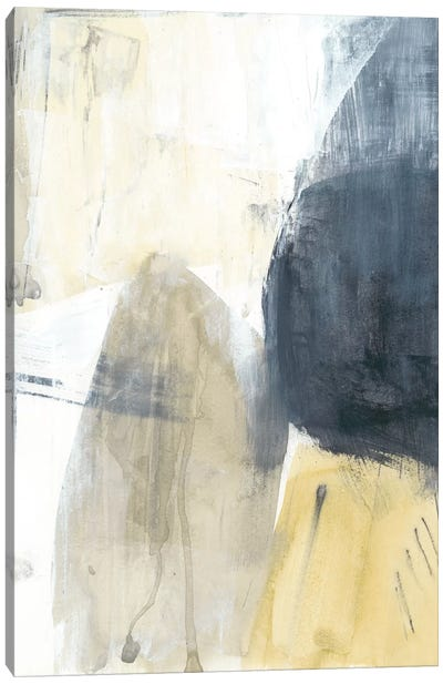 Neutral Divide II Canvas Art Print