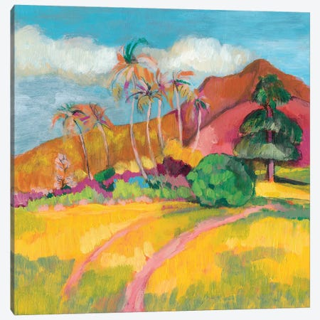 Ode To Gauguin I Canvas Print #JGO514} by Jennifer Goldberger Canvas Art
