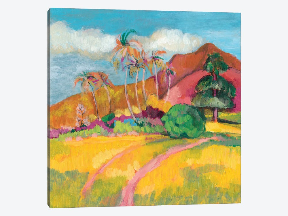 Ode To Gauguin I by Jennifer Goldberger 1-piece Art Print