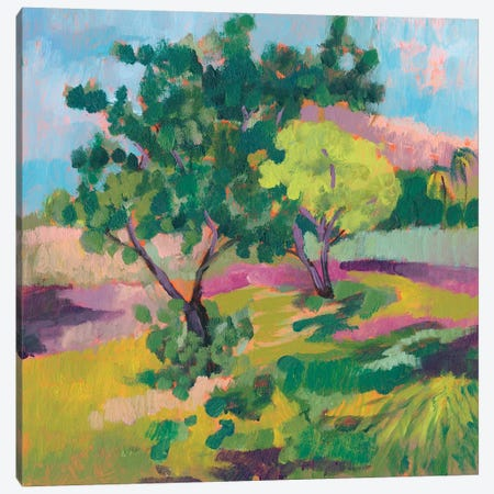 Ode To Gauguin II Canvas Print #JGO515} by Jennifer Goldberger Canvas Artwork