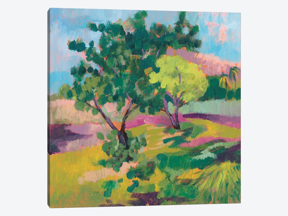 Ode To Gauguin II by Jennifer Goldberger 1-piece Canvas Art