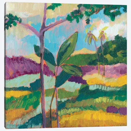 Ode To Gauguin III Canvas Print #JGO516} by Jennifer Goldberger Canvas Wall Art
