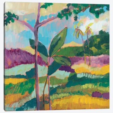 Ode To Gauguin III Canvas Print #JGO516} by Jennifer Goldberger Canvas Wall Art