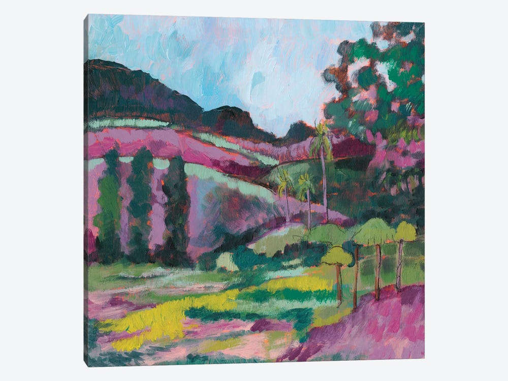 Ode To Gauguin IV by Jennifer Goldberger 1-piece Canvas Wall Art