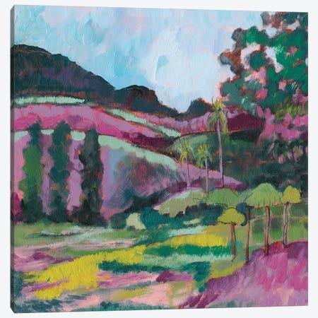 Ode To Gauguin IV 3-Piece Canvas #JGO517} by Jennifer Goldberger Canvas Wall Art