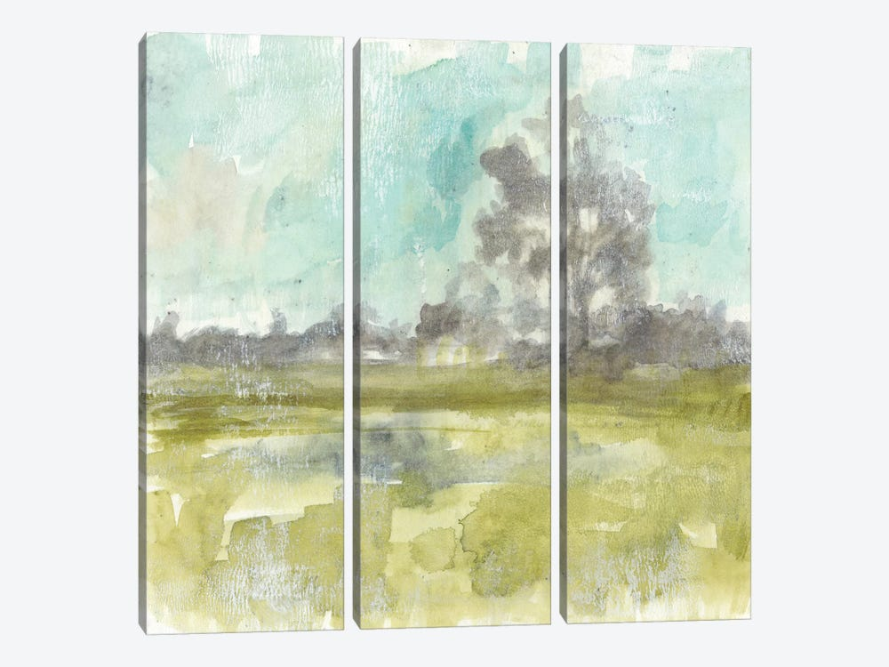Pastel Haze II by Jennifer Goldberger 3-piece Canvas Art