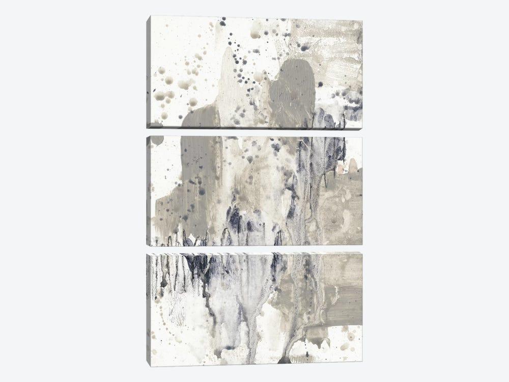 Paynes Splash I by Jennifer Goldberger 3-piece Canvas Wall Art