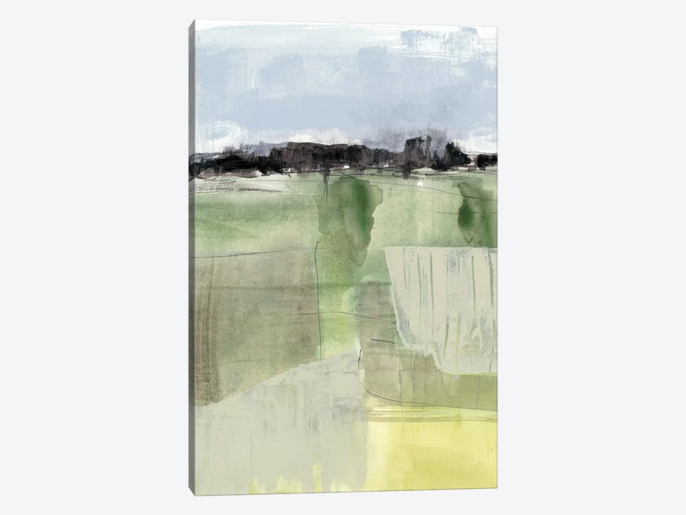 Sage Field II by Jennifer Goldberger 1-piece Canvas Art