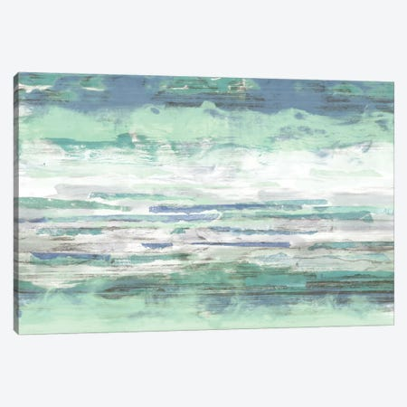 Seascape Striations I 3-Piece Canvas #JGO541} by Jennifer Goldberger Canvas Wall Art