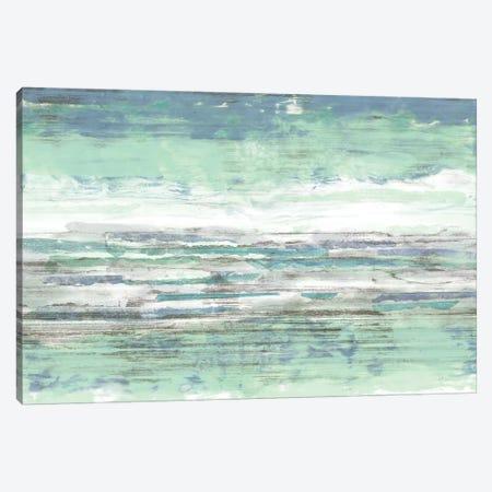 Seascape Striations II Canvas Print #JGO542} by Jennifer Goldberger Canvas Art