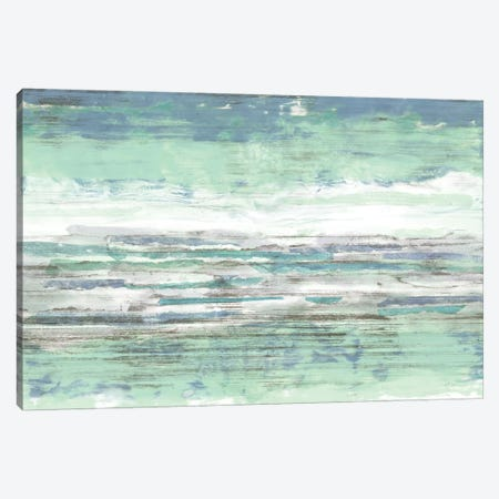 Seascape Striations II 3-Piece Canvas #JGO542} by Jennifer Goldberger Canvas Art
