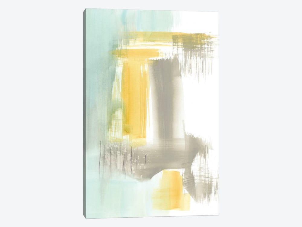 Spa Watercolor Abstract I by Jennifer Goldberger 1-piece Canvas Print