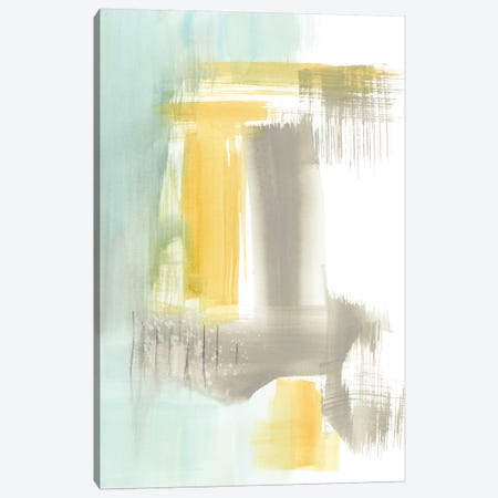 Spa Watercolor Abstract I Canvas Print #JGO543} by Jennifer Goldberger Canvas Wall Art