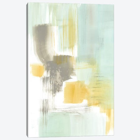 Spa Watercolor Abstract II Canvas Print #JGO544} by Jennifer Goldberger Art Print