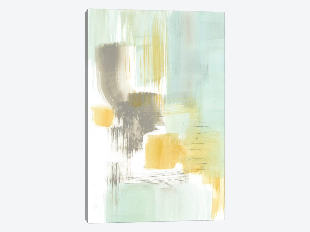 Spa Watercolor Abstract II by Jennifer Goldberger 1-piece Canvas Art