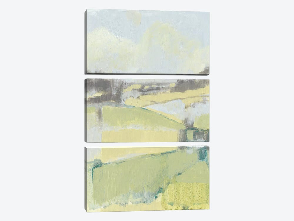 Sweet Fields I by Jennifer Goldberger 3-piece Canvas Print