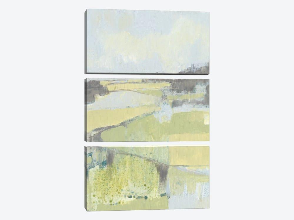Sweet Fields II by Jennifer Goldberger 3-piece Canvas Artwork