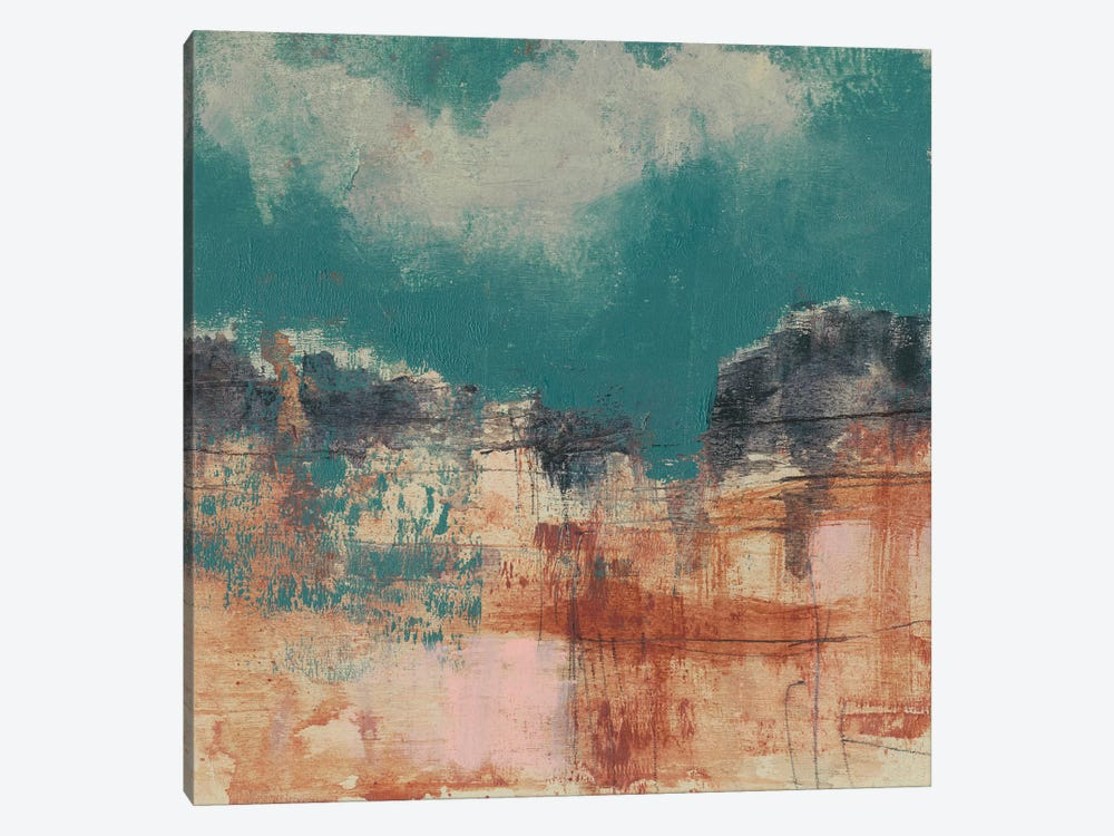 Teal Sky I 1-piece Art Print